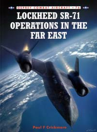 cover: Lockheed SR-71 Operations in the Far East