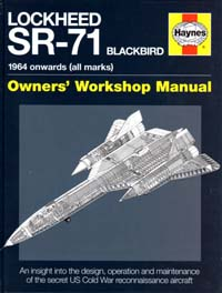 cover: Lockheed SR-71 Shop Manual